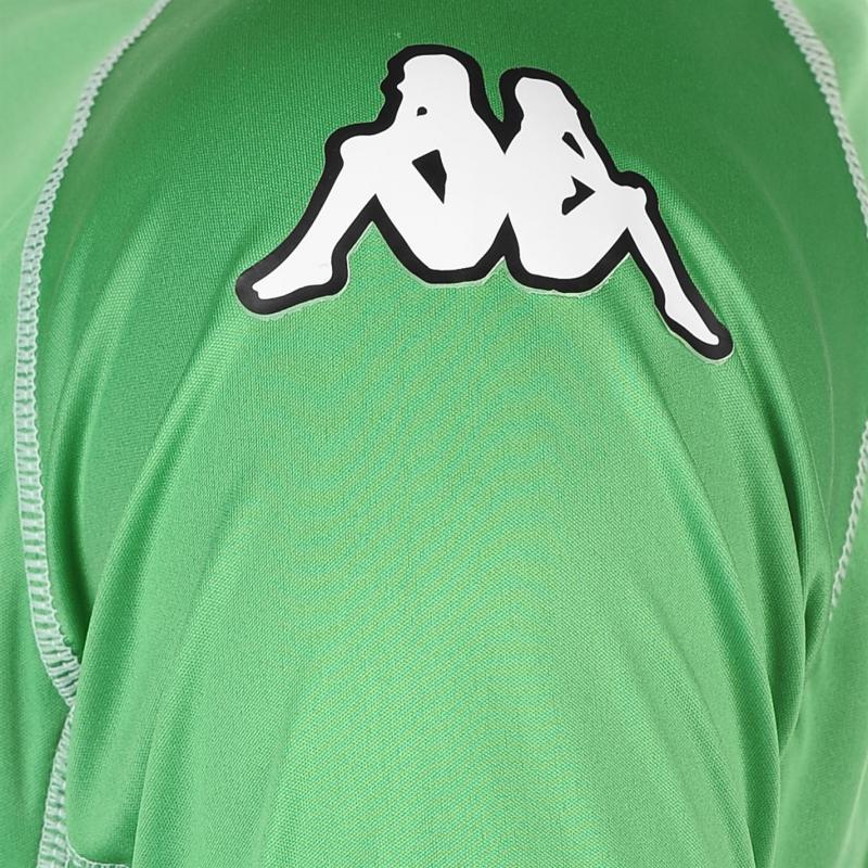 Tričko Kappa Masa Short Sleeve Football Tee Mens Green