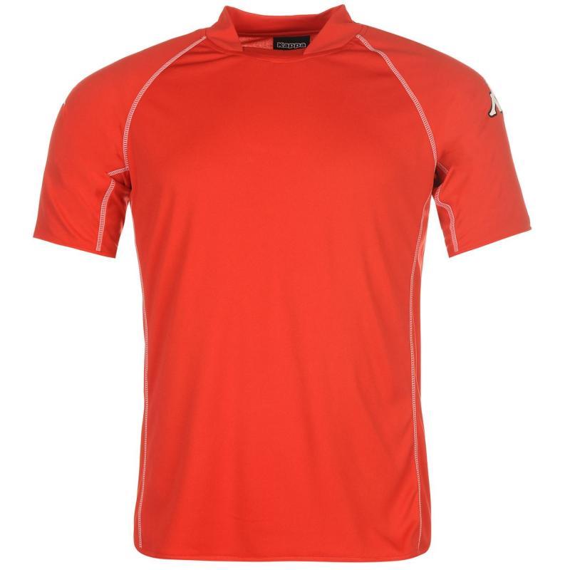 Tričko Kappa Masa Short Sleeve Football Tee Mens Red