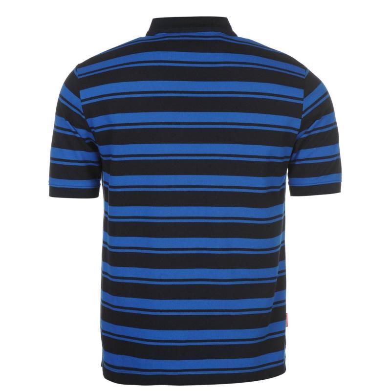 Slazenger Pique YD Polo Shirt Mens Navy