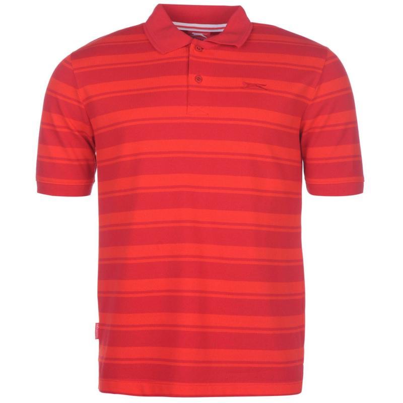 Slazenger Pique YD Polo Shirt Mens Red