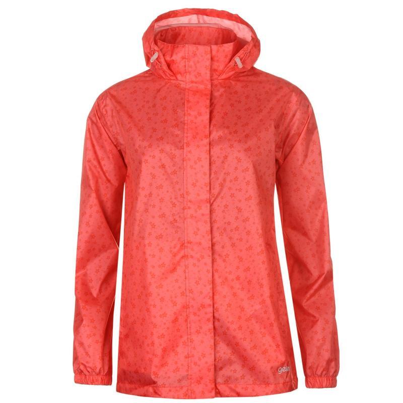 Gelert Packaway Jacket Ladies RoseFloralPrint