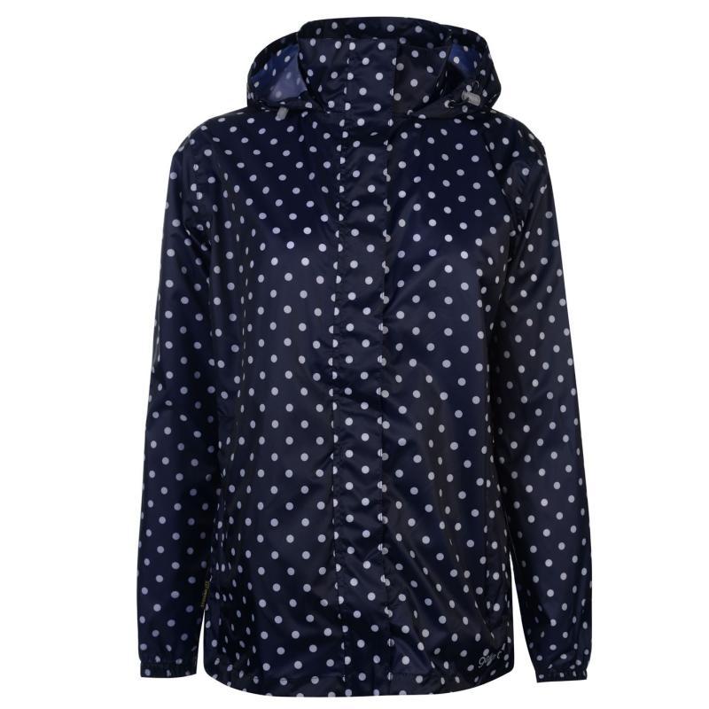 Gelert Packaway Waterproof Jacket Ladies Gelert Purple