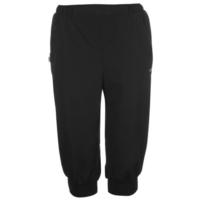 LA Gear Three Quarter Woven Pants Ladies Black