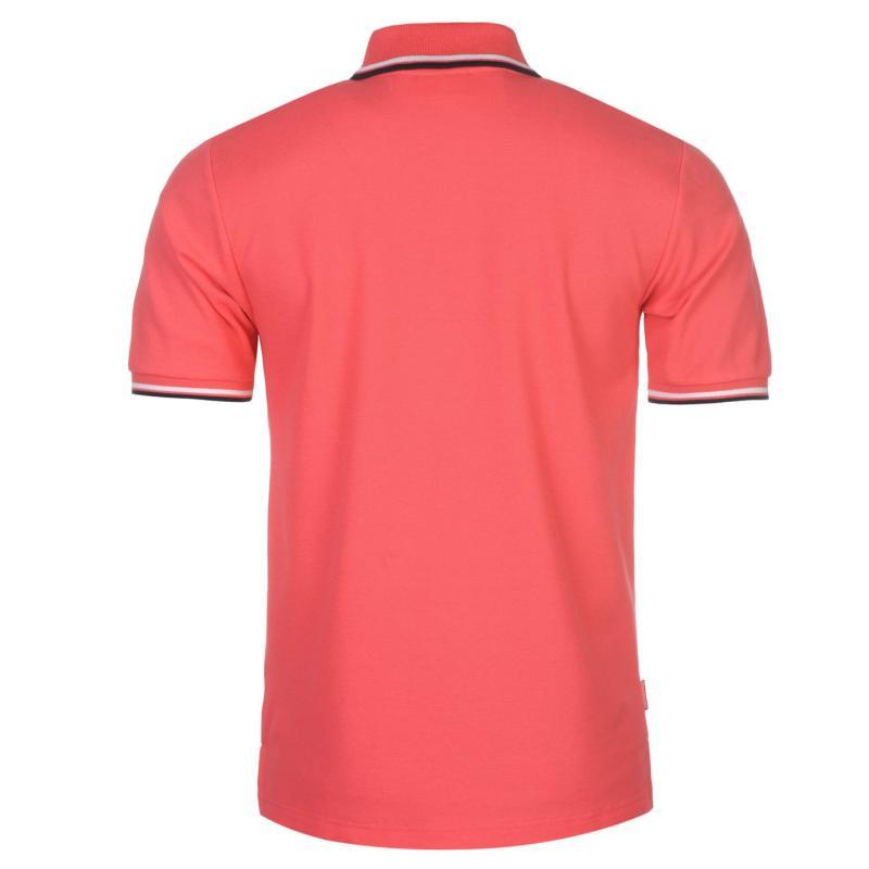 Slazenger Tipped Polo Shirt Mens Bright Pink