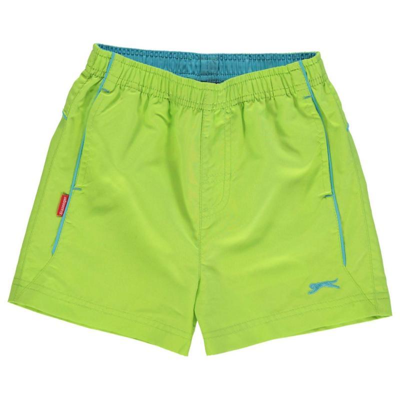 Kraťasy Slazenger Woven Shorts Infant Boys Green