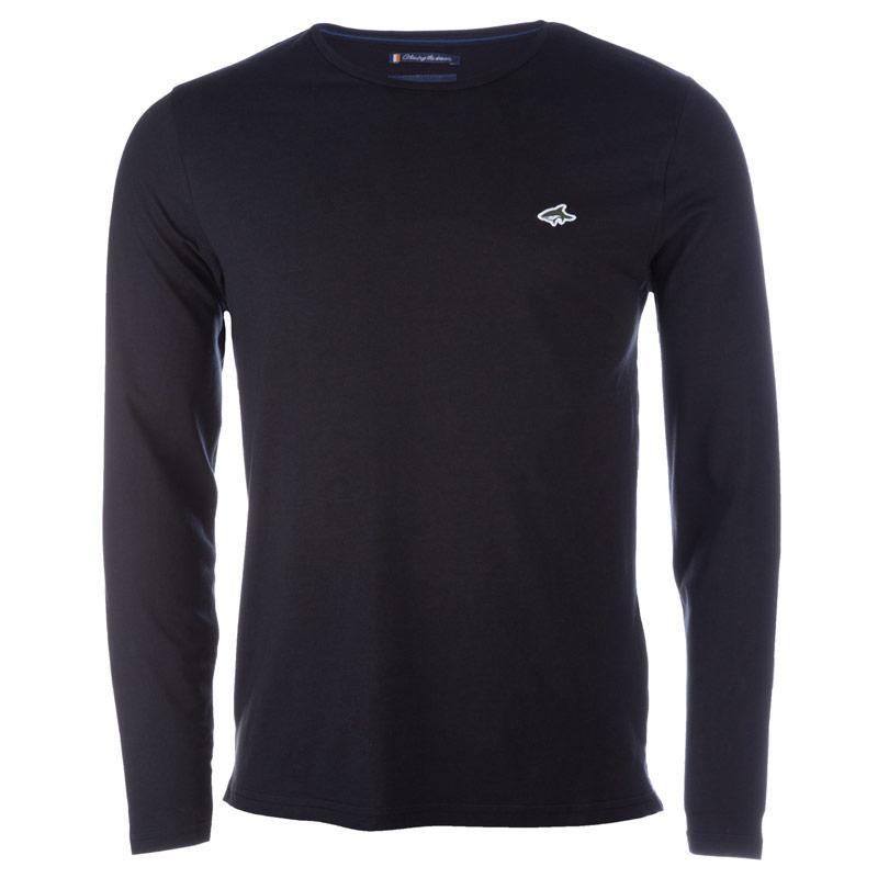 Tričko Le Shark Mens Gifford Long Sleeve T-Shirt Black