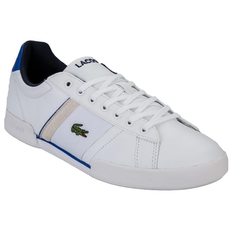 Lacoste Mens Deston Trainers White