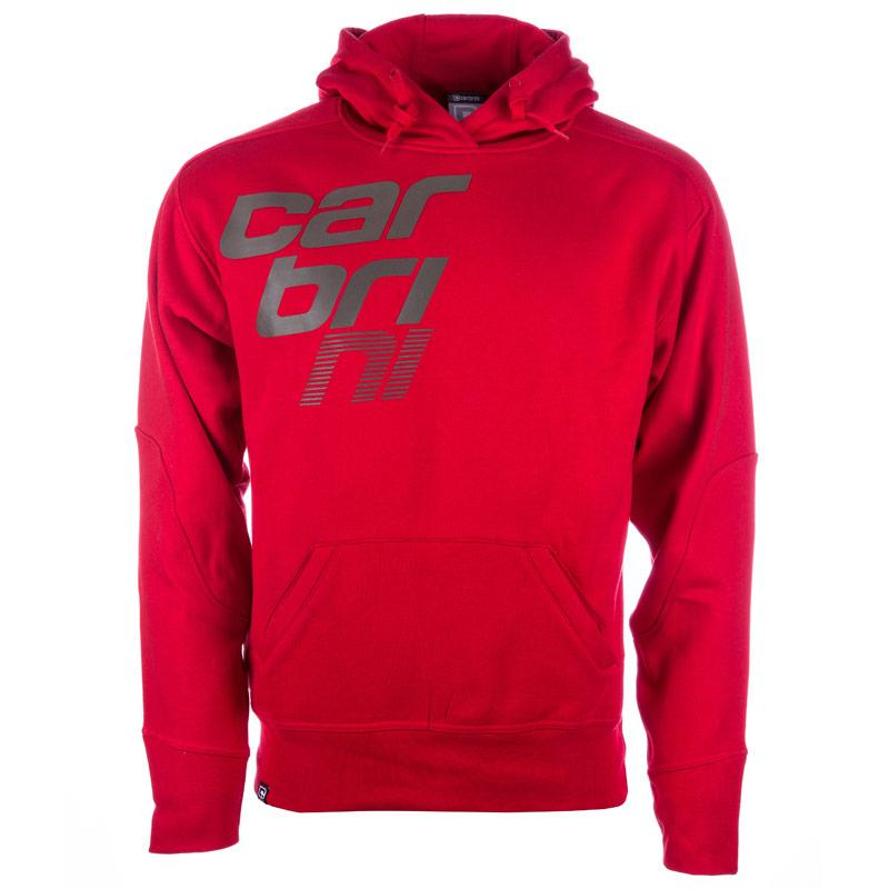 Mikina Carbrini Mens Space Hoody Red