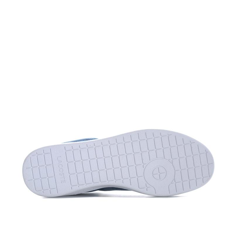 Lacoste Womens Carnaby EVO Trainers White red Velikost - UK5 (euro 38)