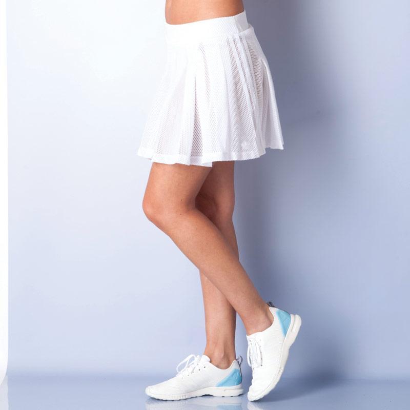 Sukně Adidas Originals Womens Tennis Logo Skirt White