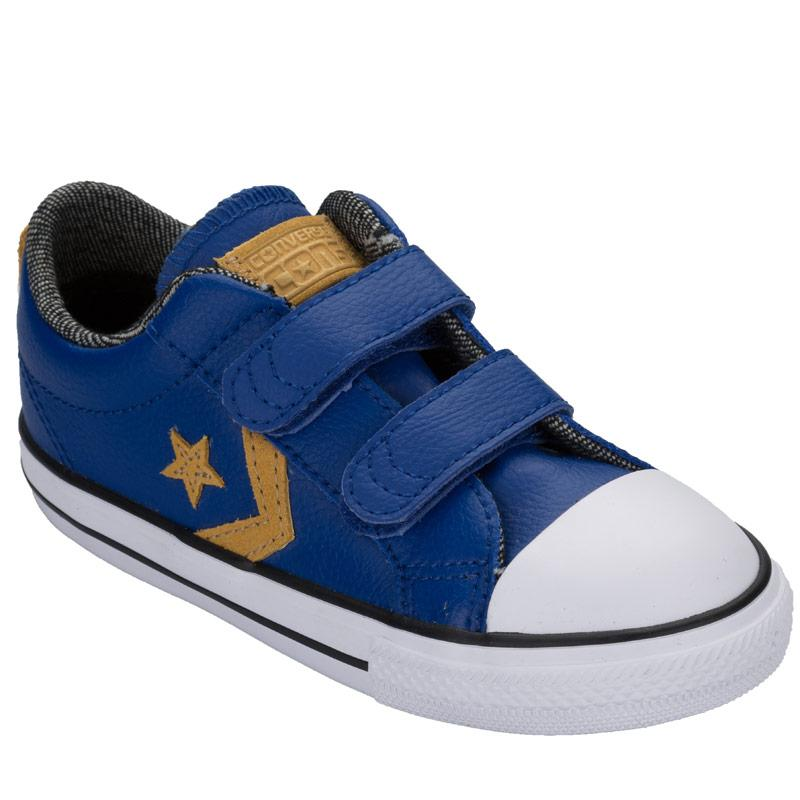 Boty Converse Children Boys Star Player 2V Ox Trainers Blue