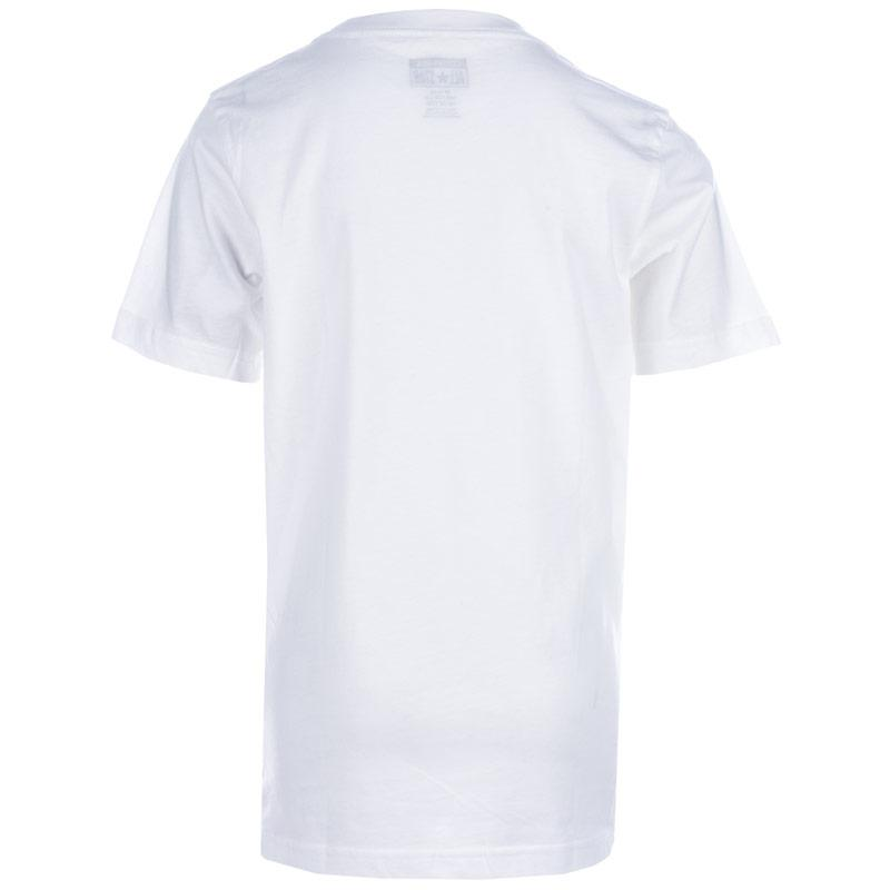 Tričko Converse Junior Boys Chuck Patch T-Shirt White