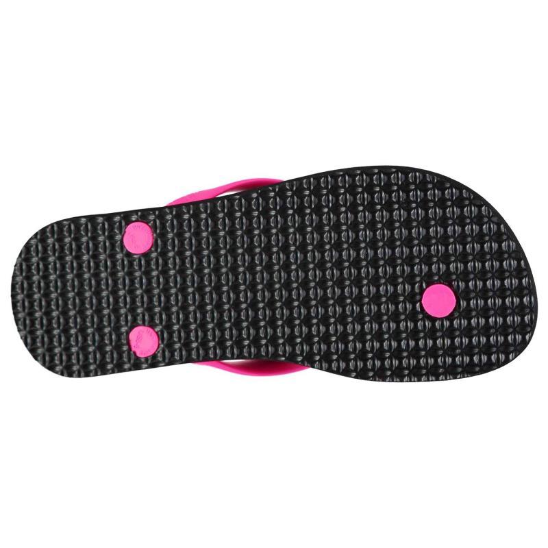 Boty adidas Neo Flip Flops Ladies Black/ShockPink