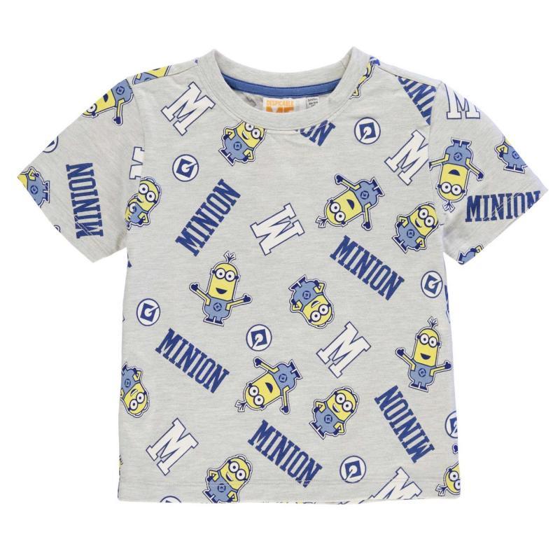 a0eb1c9053b Tričko Character Short Sleeve T Shirt Boys Minions 2