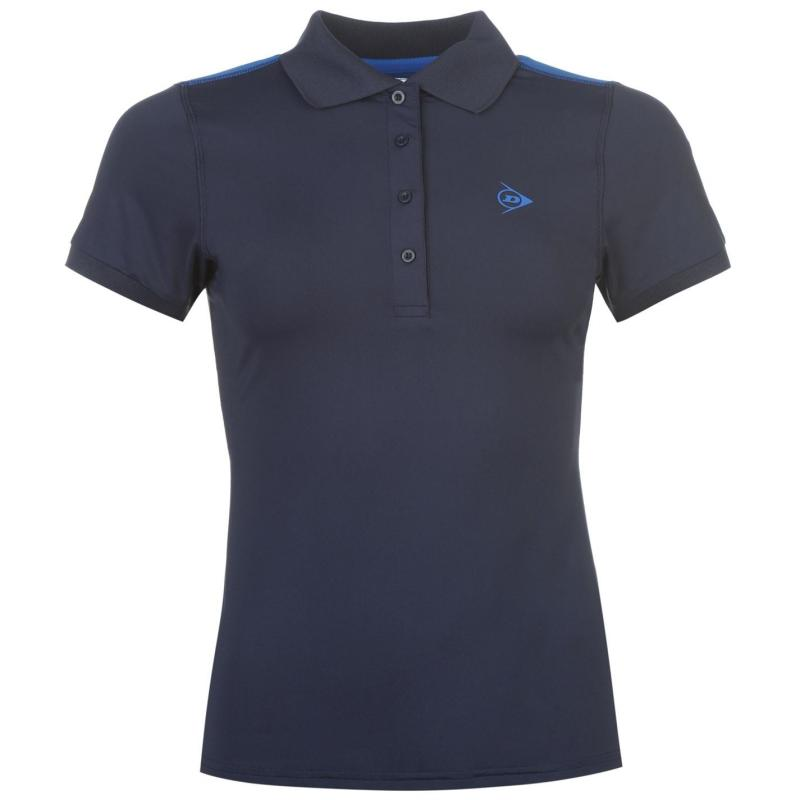 Polokošile Dunlop Performance Polo Shirt Ladies Navy