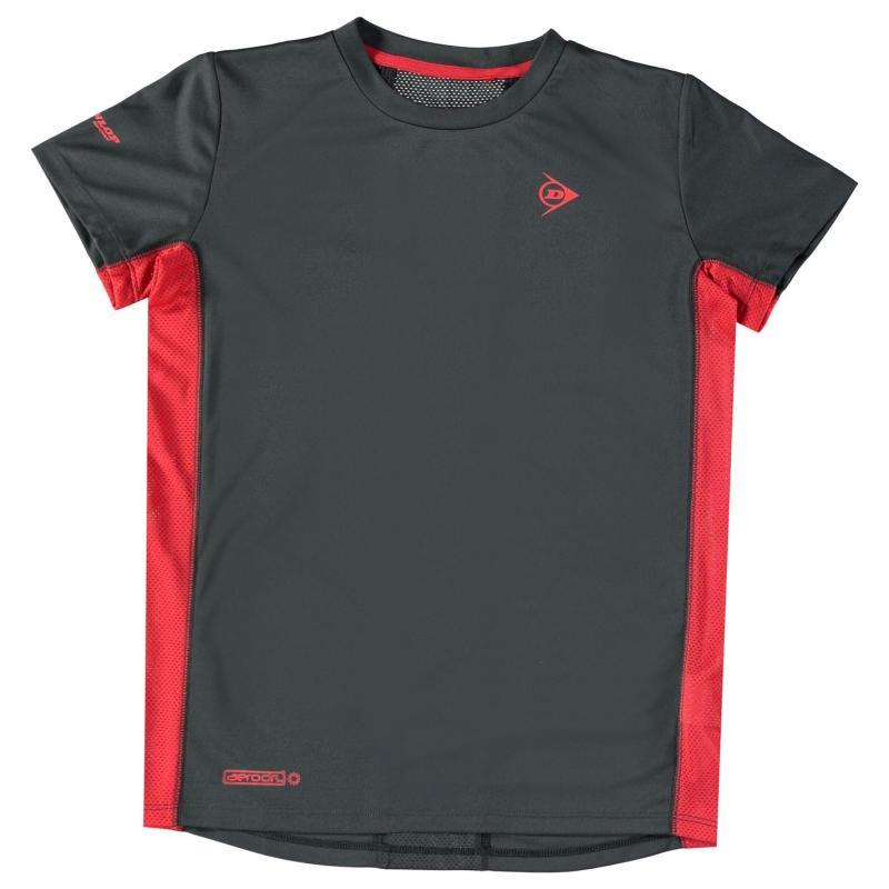 Tričko Dunlop Performance T Shirt Junior Royal