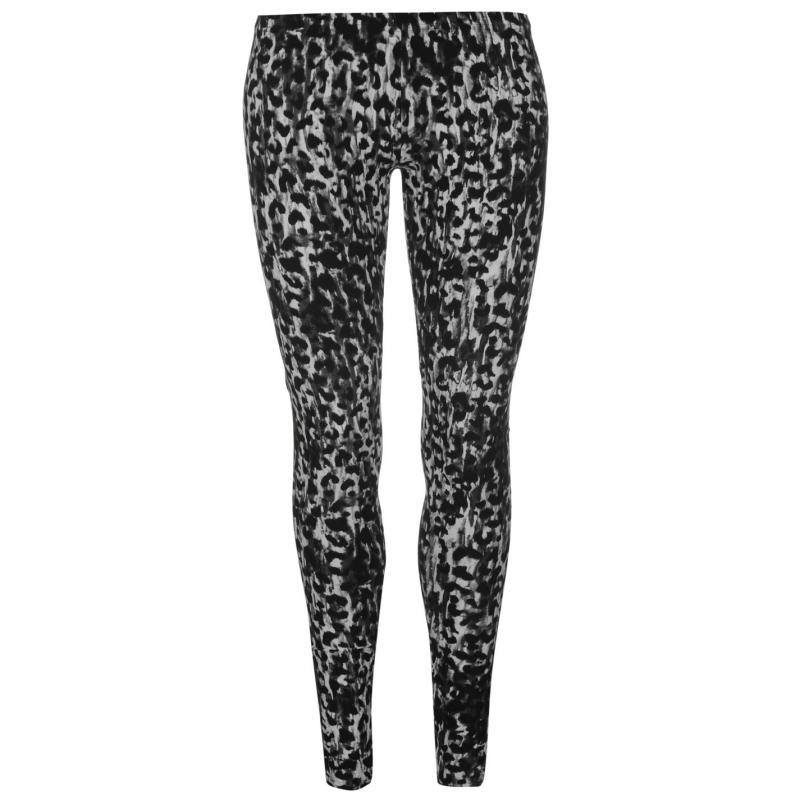 Golddigga Lux Leggings Ladies Black/White