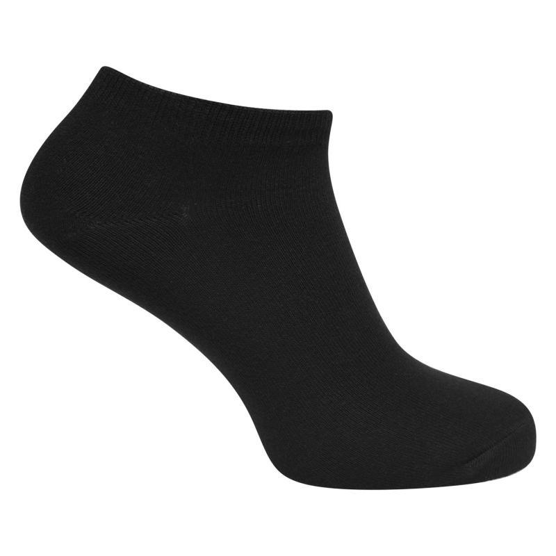 Ponožky Jack and Jones Dongo Nos 5 Pack Trainer Socks Black