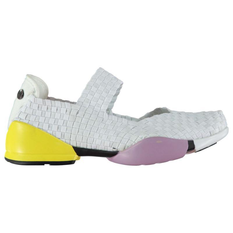 Boty Bernie Mev Charm Shock Shoes White