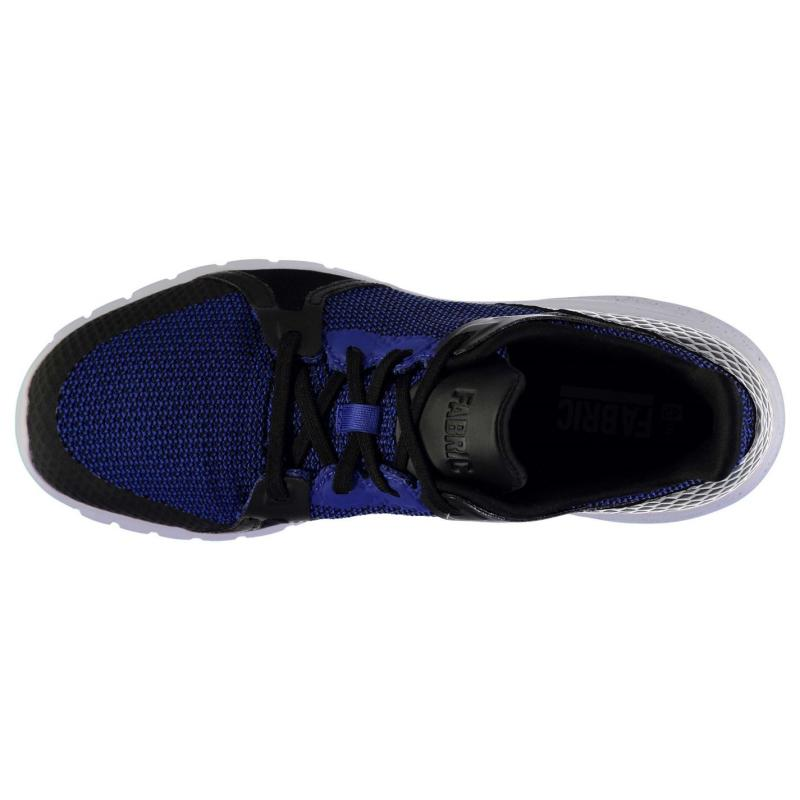 Fabric Vela Fashion Runner Trainers Mens Blue/Black