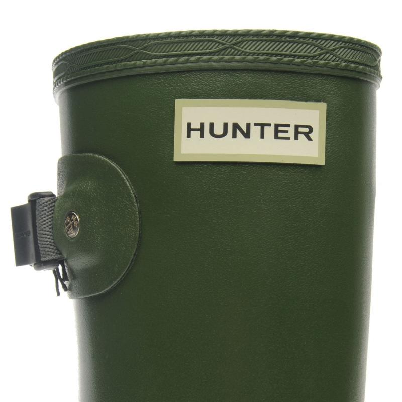 Boty Hunter Norris Field Mens Boots Vintage Green