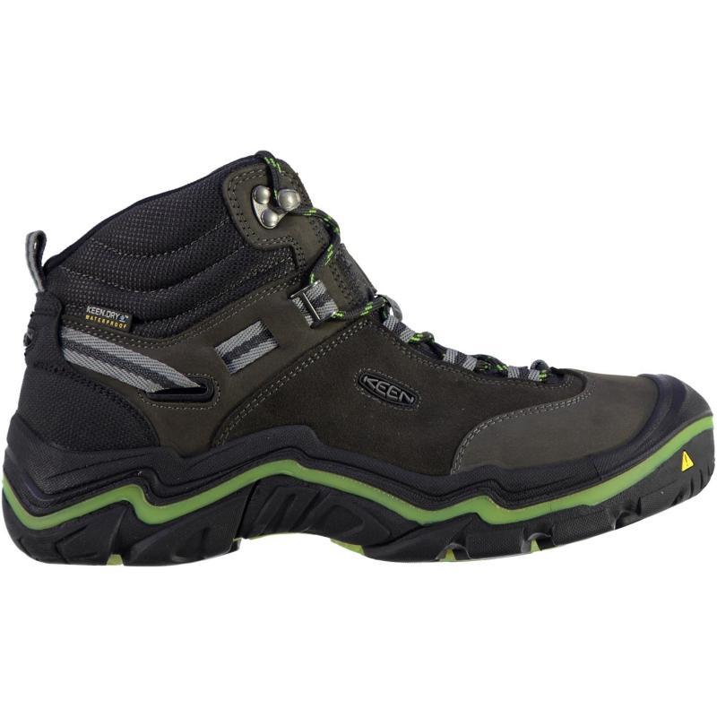 Keen Wanderer Mid Waterproof Ladies Walking Boots Raven/Chartreus