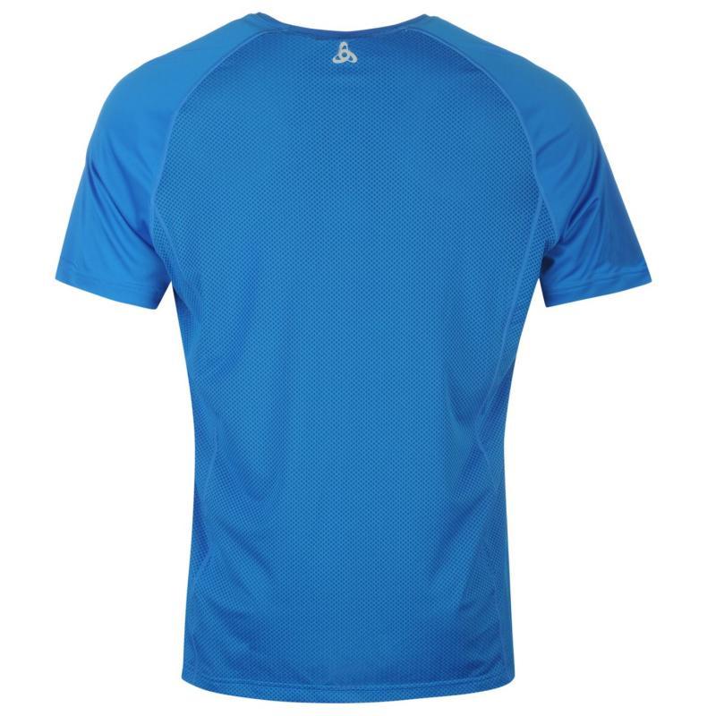 Tričko Odlo Crio T Shirt Mens Blue