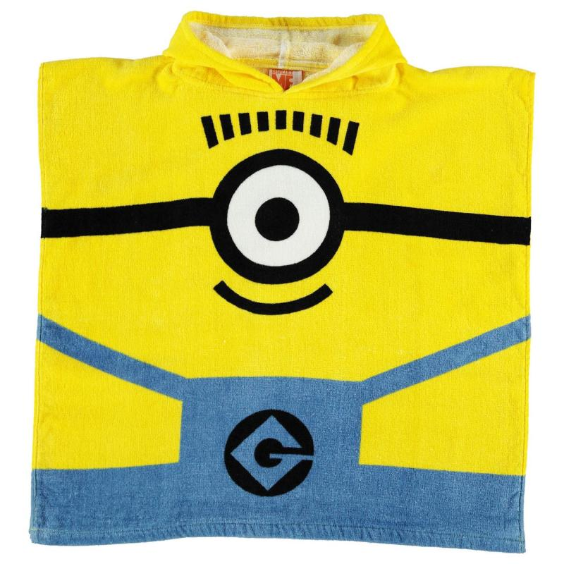 Character Towel Poncho Infant Minions