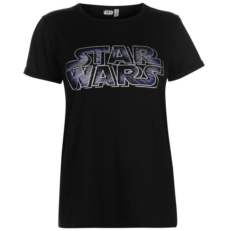 Character Short Sleeve T Shirt Ladies Disney Princess