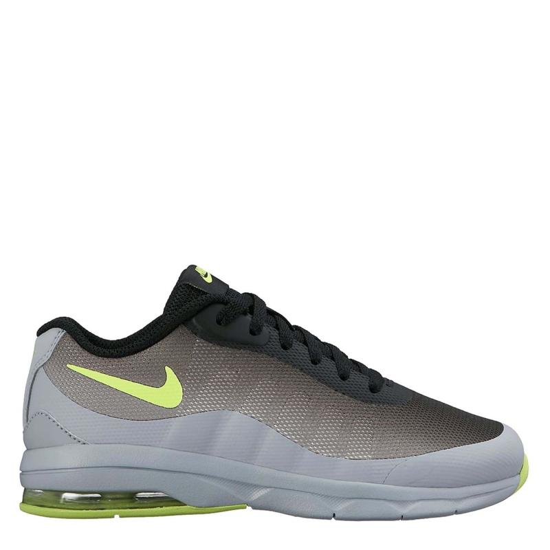 Boty Nike Air Max Invigor Little Kids' Shoe Grey/Volt