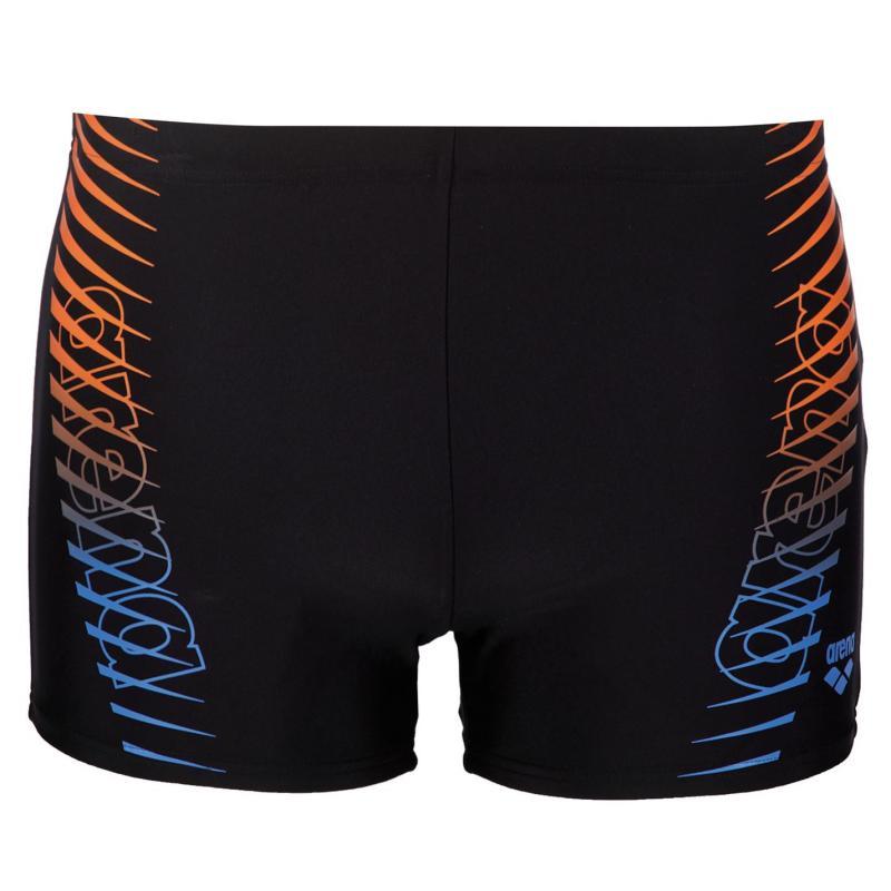 Plavky Arena Urban Swim Shorts Mens Black/Blue