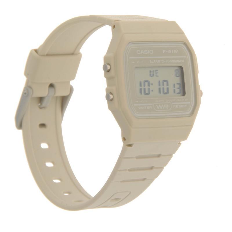 Casio F 91 Watch Mens Grey