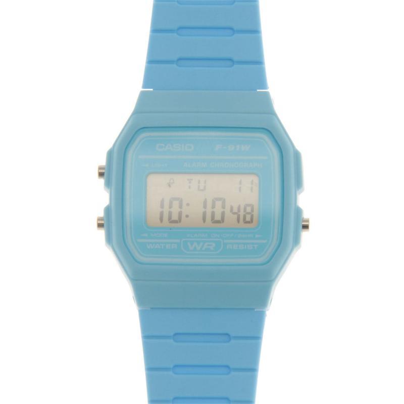 Casio F 91 Watch Mens Blue