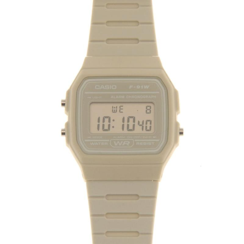 Casio F 91 Watch Mens Green