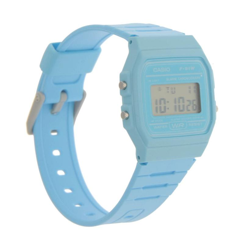 Casio F 91 Watch Mens Blue