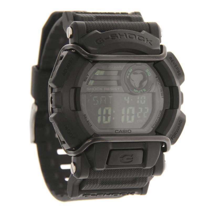 Casio Mens G Shock Alarm Chronograph Watch Black/White