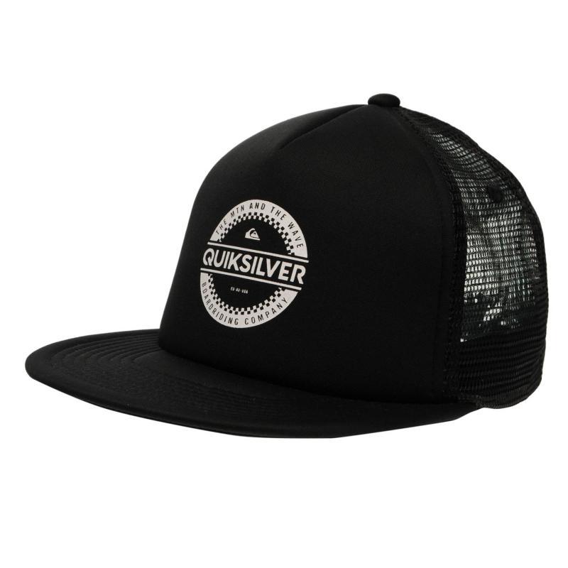 Quiksilver Circle Work Cap Mens Black