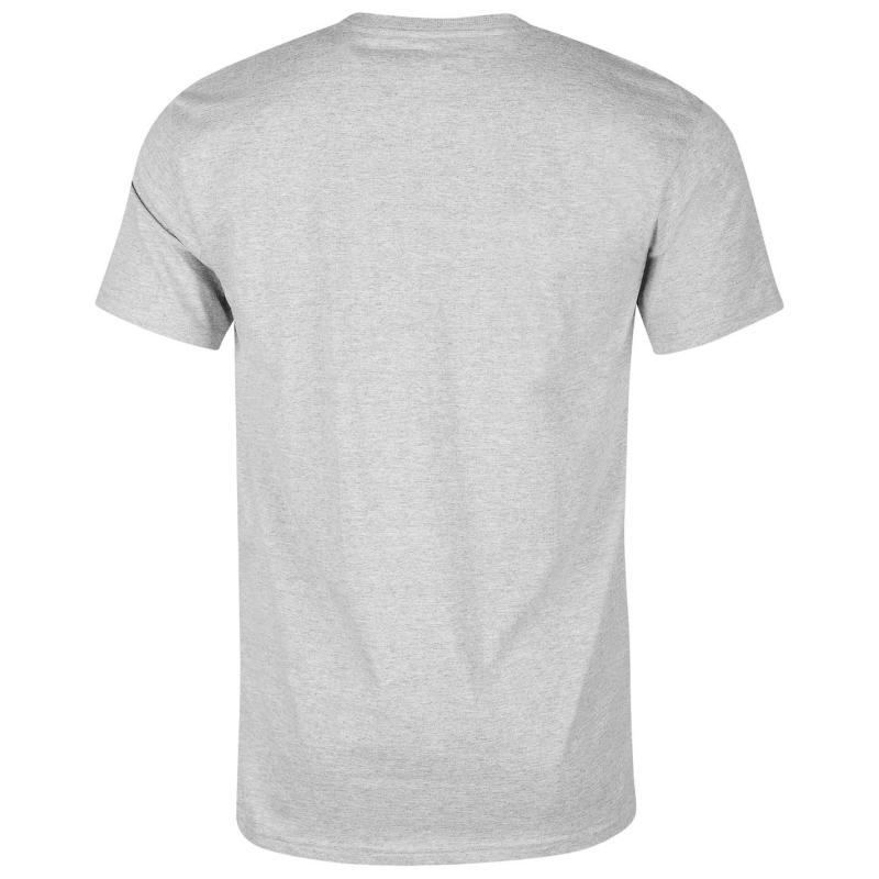 Tričko Quiksilver Twin View Short Sleeve T Shirt Mens Grey
