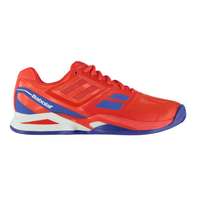 Babolat Propulse Clay Court Mens Tennis Shoes Red/Blue