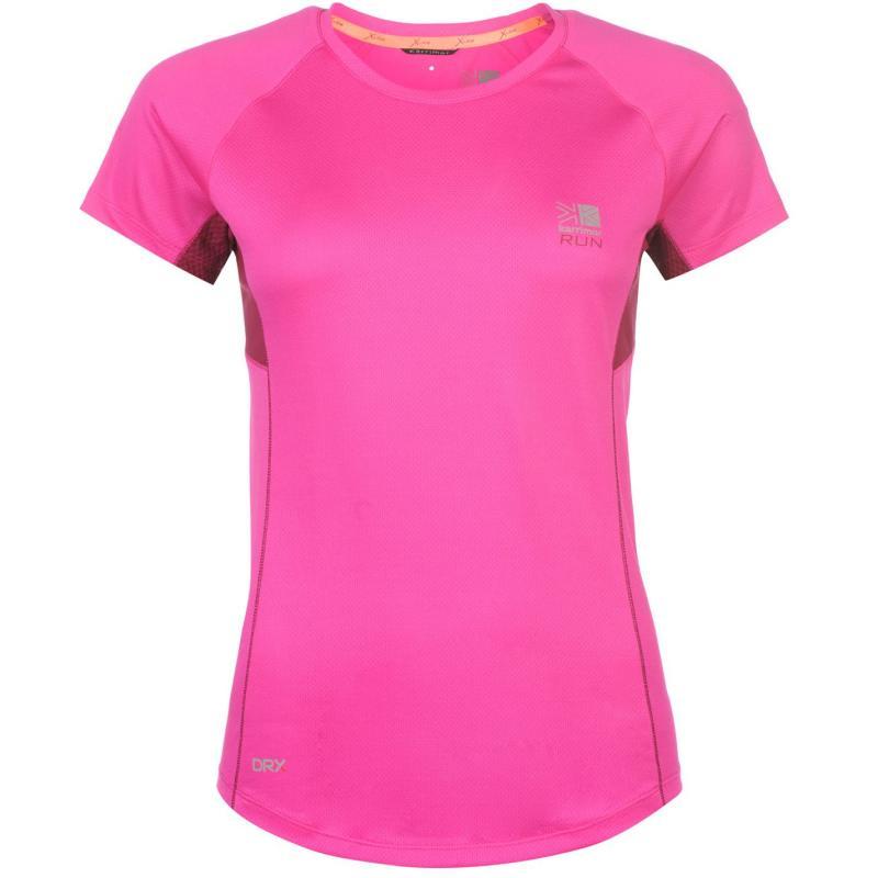 Karrimor X Racer Running T Shirt Ladies Run Pink