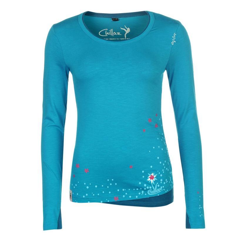 Košile Chillaz Fancy Little Dot Sweater Ladies Sky
