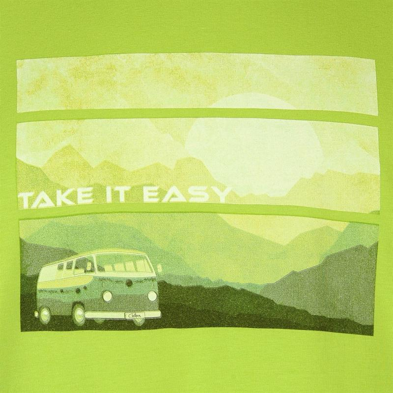 Tričko Chillaz Take Time Tee Shirt Mens Green