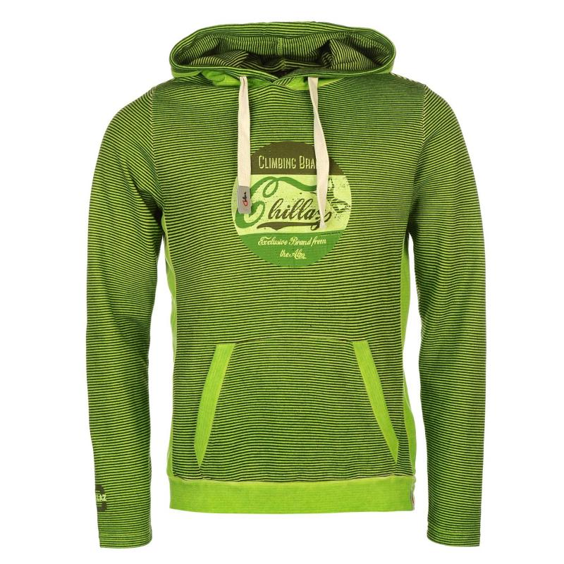 Mikina Chillaz Vail Retro Hoodie Mens Green