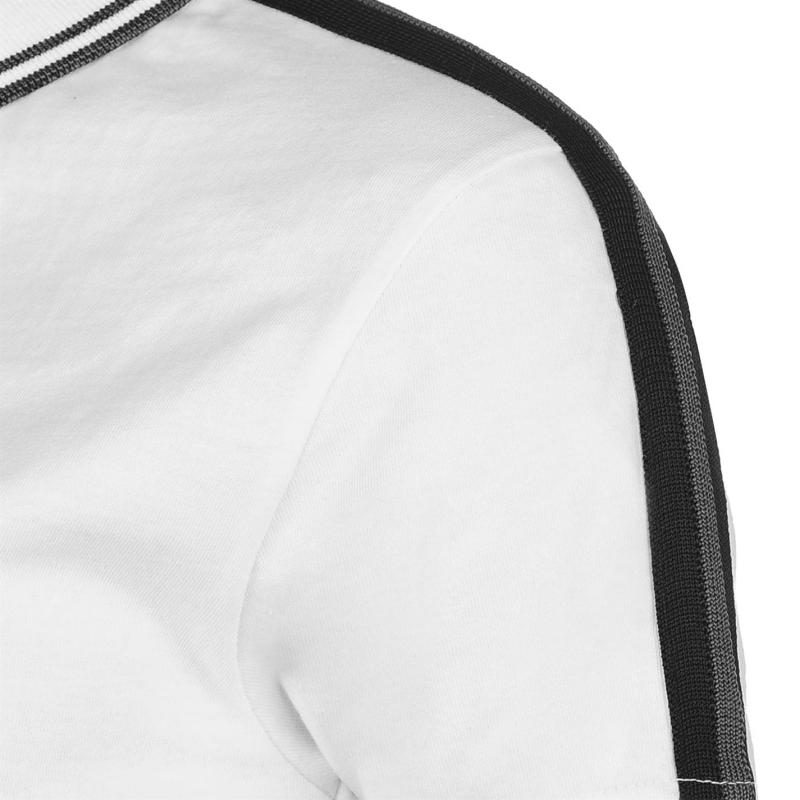 Polokošile Golddigga Retro Zip Polo Ladies Navy/White