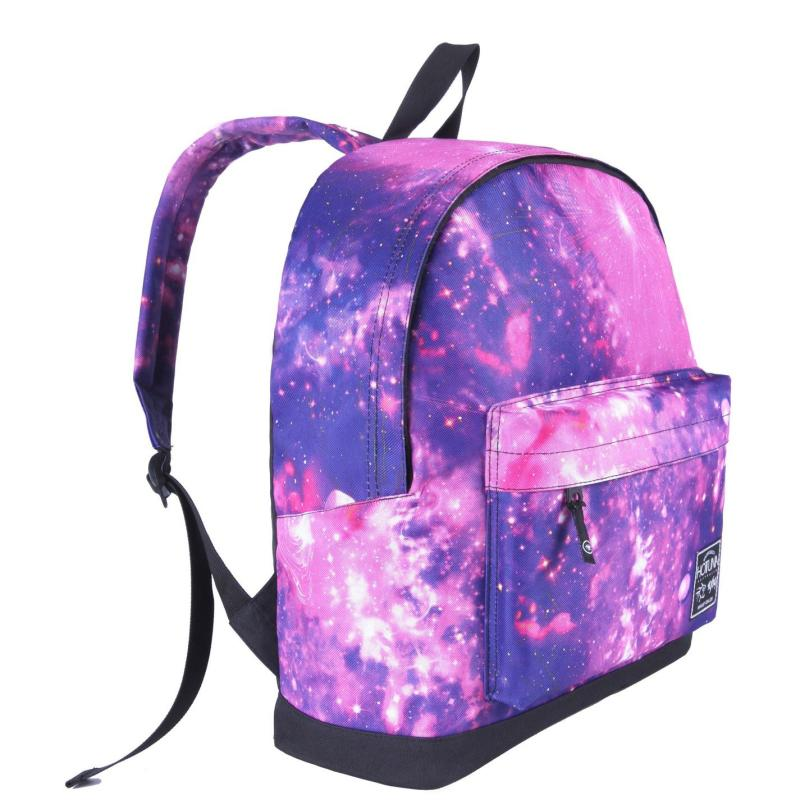 Hot Tuna Galaxy Backpack Pink/Purple