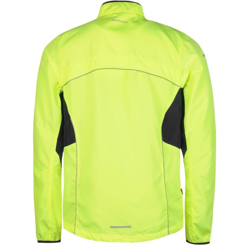 Karrimor Running Jacket Mens Fluo Yellow
