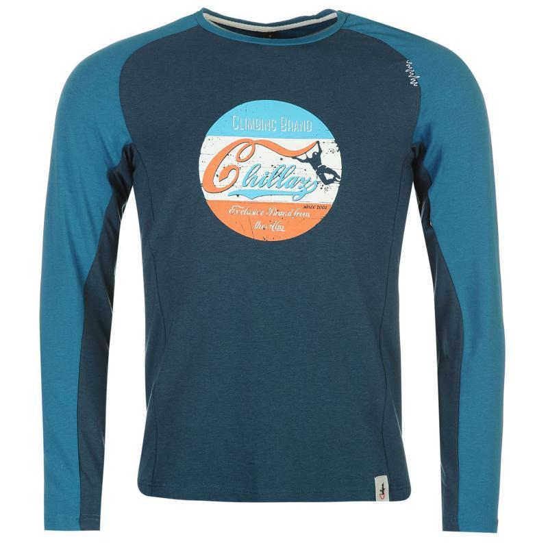 Tričko Chillaz Krabi Sweater Mens Blue