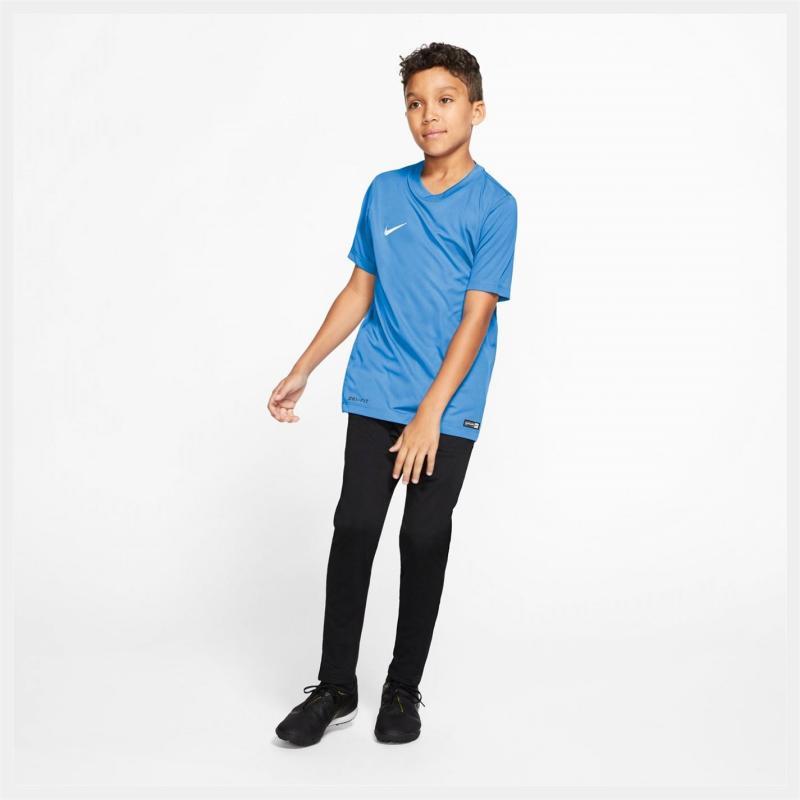 Tričko Nike Dry Football Top Junior Boys Blue/White