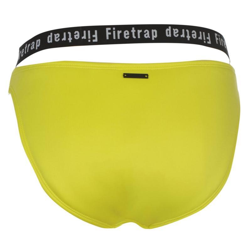 Plavky Firetrap Luxe Swim Briefs Ladies Lime