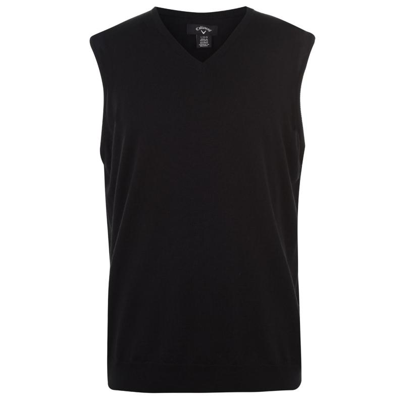 Callaway Sweatshirt Vest Mens Black